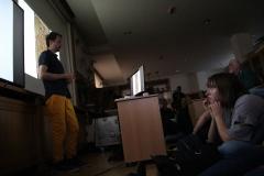 Návštevníci sledovali prednášku s veľkým zaujatím.