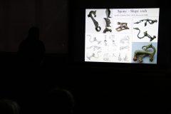 Prezentoval okrem iného aj veľa zaujímavých nových nálezov z rôznych lokalít západného Slovenska.