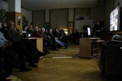 Prednáška Rada Čambala začala.