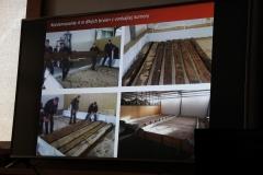 Vysušenie a konzervácia brvien zo stien hrobky si vyžadovali veľké priestory, odborné znalosti a niekoľko ročnú trpezlivosť (brvná sa stále v Nemecku dosušujú, aby potom vydržali bežných v podmienkach na vzduchu).