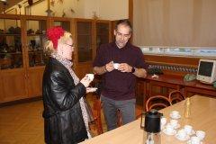Debaty pokračovali aj pri káve. Kde je Metodov hrob sme sa opäť nedozvedeli :)