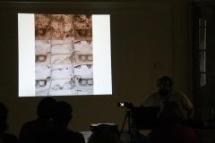 Slovenskí geodeti podrobne dokumentujú aj priebeh reštaurovania kamenných masiek.